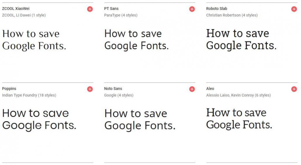 Google Fonts and GDPR