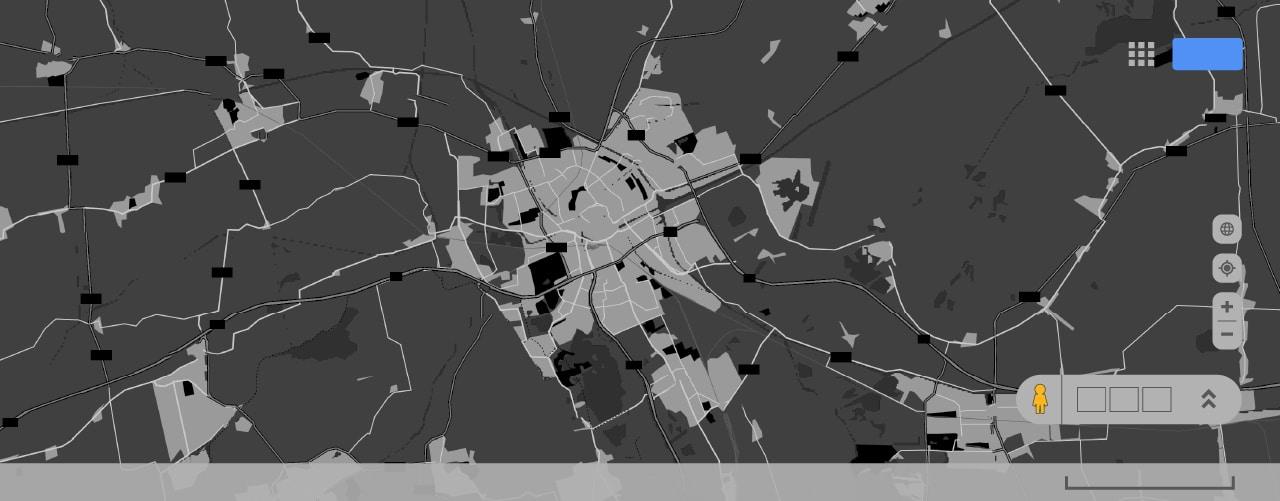 Google Maps Dark 1280x500
